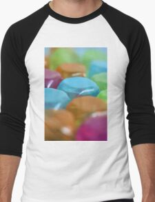 Colored Cubes - Abstract Art Men's Baseball ¾ T-Shirt