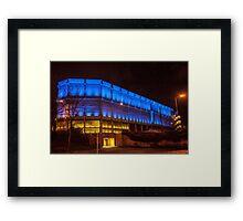 Sheffield at Night Framed Print