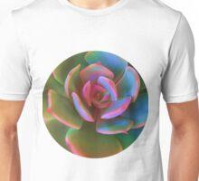 Pink Succulent Unisex T-Shirt