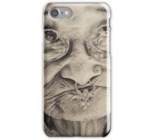 lady with umbrella iPhone Case/Skin