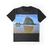 Reflections In The Sand  Graphic T-Shirt