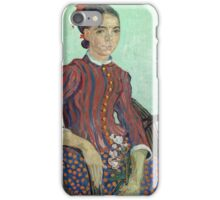 Vincent Van Gogh - La Mousme, 1888 iPhone Case/Skin