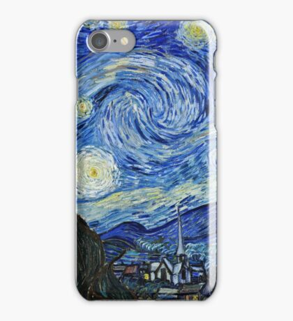 Vincent Van Gogh -  Starry Night 1889  iPhone Case/Skin