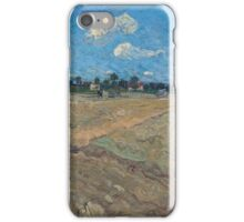 Vincent Van Gogh -  Ploughed Field, 1888 iPhone Case/Skin