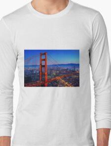 San Francisco at Sunset Long Sleeve T-Shirt