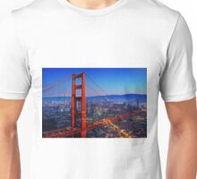 San Francisco at Sunset Unisex T-Shirt