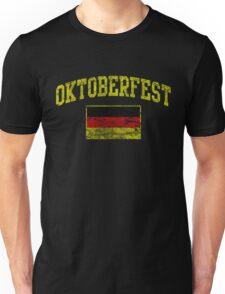 Vintage Oktoberfest German Flag  Unisex T-Shirt