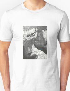 G3 Gamera vs GMK Godzilla Unisex T-Shirt