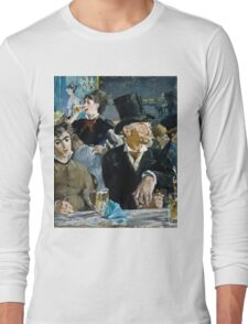 Edouard Manet - At the Cafe ( 1879)  Long Sleeve T-Shirt