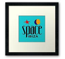 Space Ibiza Framed Print