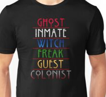 The American Horror Seasons Unisex T-Shirt