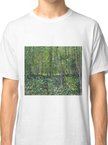 Vincent Van Gogh - Trees And Undergrowth, July 1887 - 1887  Classic T-Shirt