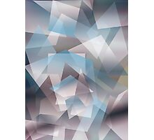 Abstract geometric pattern Photographic Print