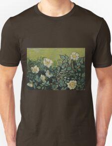 Vincent Van Gogh - Wild Roses, April 1890 - May 1890  Unisex T-Shirt