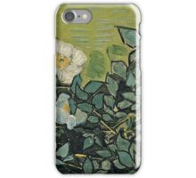Vincent Van Gogh - Wild Roses, April 1890 - May 1890  iPhone Case/Skin