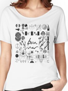 Bon Iver Women's Relaxed Fit T-Shirt