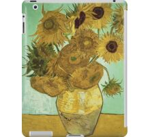 Vincent Van Gogh - Sunflowers 1888 iPad Case/Skin