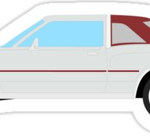 1977-1978 Dodge Diplomat - maroon & gray Sticker
