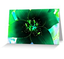 Light Effect -21 Greeting Card