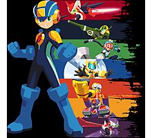 Megaman: Souls of a Hero V2 Photographic Print