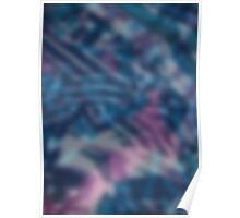 Abstract blurring background Poster