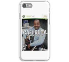 Carl on Duty: Black Cops iPhone Case/Skin