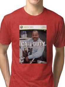 Carl on Duty: Black Cops Tri-blend T-Shirt