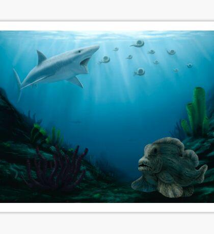 Permian Fishes Sticker