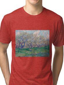 Vincent Van Gogh - Orchard In Blossom, 1888 01 Tri-blend T-Shirt