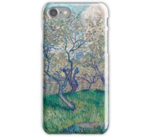 Vincent Van Gogh - Orchard In Blossom, 1888 01 iPhone Case/Skin