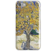 Vincent Van Gogh - Mulberry Tree, 1889 iPhone Case/Skin