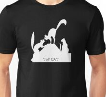 top cat kitty on hill Unisex T-Shirt