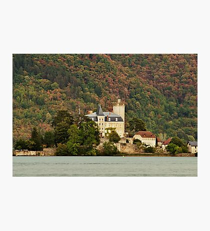 The castle on the lake Photographic Print