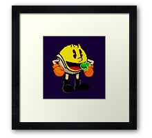 Pac attack Framed Print
