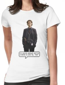 Spencer Reid Criminal Minds Womens Fitted T-Shirt