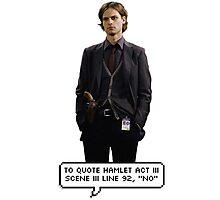 Spencer Reid Criminal Minds Photographic Print