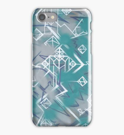 Weißklang - Abstract Painting on Acryl iPhone Case/Skin
