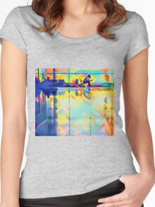 Leaving On A Jet Plane Women's Fitted Scoop T-Shirt