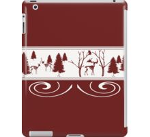 Scary Red Winter iPad Case/Skin