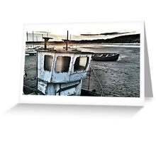 beadnell harbour Greeting Card