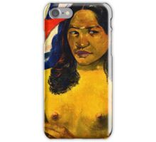 Paul Gauguin - Delightful Land (Te Nave Nave Fenua) (1892)  iPhone Case/Skin