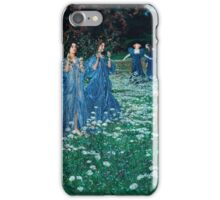 Maximilian Lenz - A World (1899)  iPhone Case/Skin