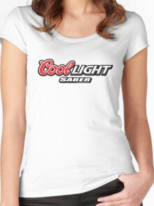 Cool Light Saber Women's Fitted Scoop T-Shirt