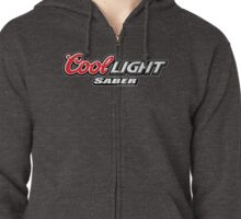 Cool Light Saber Zipped Hoodie