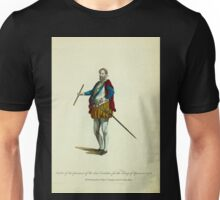 Habit of the governor of the Low Countries for the King of Spain in 1576 Governeur pour le Roy d'Espagne dans les Pays Bas 395 Unisex T-Shirt