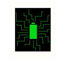 Fully Charged Art Print