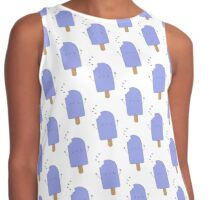 Blueberry Popsicle Contrast Tank