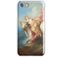 Jean-Francois De Troy - The Abduction Of Europa iPhone Case/Skin