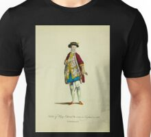 Habit of King Edward VI worn in England in 1550 Le Roi Edouard VI 358 Unisex T-Shirt