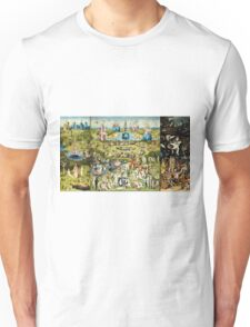 Hieronymus Bosch - The Garden Of Earthly Delights 1515  Unisex T-Shirt